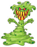 Scary monster. Illustration of a scary monster royalty free illustration