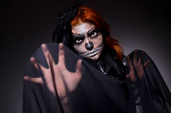 Scary monster royalty free stock images
