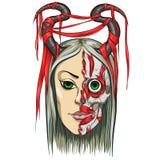 Zombie Girl Royalty Free Stock Photos