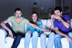 Scary Movie Stock Image