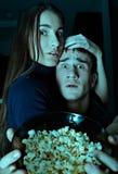 Scary movie Stock Image