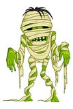 Scary Mummy. Vector illustration of scary Halloween mummy with bandage Royalty Free Stock Image