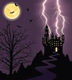 Scary night. Stock Image