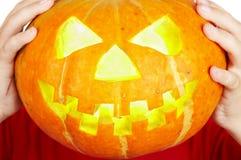 Scary old jack-o-lantern Royalty Free Stock Images