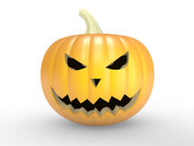 A scary old pumpkin Stock Photo