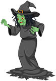 A scary old witch Stock Images