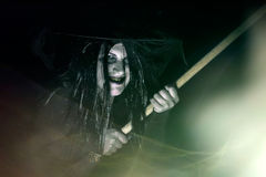 Scary Old Witch Royalty Free Stock Photography