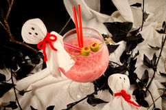 Scary party cocktail Stock Images