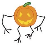 Scary Pumpkin stock image