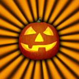 Scary Pumpkin Royalty Free Stock Image