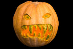 Scary Pumpkin Stock Images