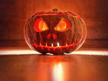 Scary pumpkin Royalty Free Stock Photography