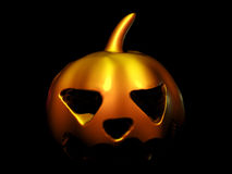 Scary Pumpkin halloween Royalty Free Stock Image