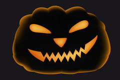 Scary pumpkin for Halloween Royalty Free Stock Images