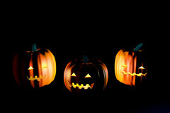 Scary pumpkin Royalty Free Stock Photos