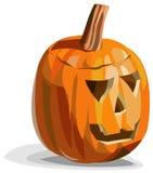 Scary pumpkin Jack O'Lantern. Illustration of scary pumpkin Jack O'Lantern for Halloween Stock Images