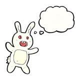 scary rabbit cartoon Royalty Free Stock Photography