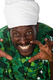 Scary Rastafarian Royalty Free Stock Photo