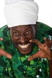 Scary Rastafarian Royalty Free Stock Photo