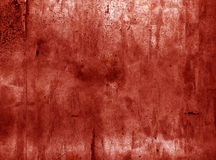 Scary red grunge wall texture Stock Photos