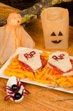 Scary sandwich Royalty Free Stock Photo