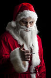 Scary santa Stock Images
