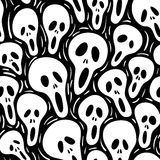 Scary (seamless vector wallpap royalty free stock photography