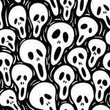 Scary (seamless vector wallpap stock illustration