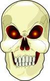 Scary_skull Stock Image