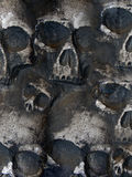 Scary Skull Background Stock Photos