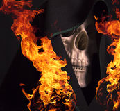 Scary skull Royalty Free Stock Photo