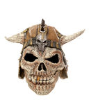 Scary skull halloween mask Stock Image