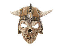 Scary skull halloween mask Royalty Free Stock Images