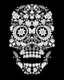 Scary skull pattern Royalty Free Stock Image