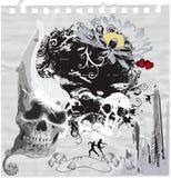 Scary skulls Royalty Free Stock Photos