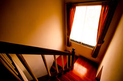 Scary stairs Stock Images
