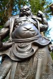 Scary Statue. Scary old oriental mythical figure Royalty Free Stock Image