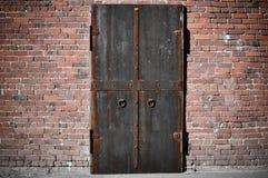 Scary Steel Door royalty free stock photos