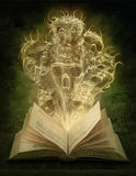 Scary stories. Magic book with scary stories Royalty Free Stock Photography