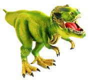 Dinosaur Isolated on white royalty free stock photography