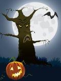 Scary tree Royalty Free Stock Photography