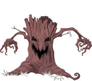 Scary tree Stock Photo