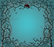 Scary tree background. Vector illustration of scary tree background in EPS10 format Stock Photography