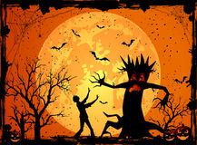 Scary tree Royalty Free Stock Image