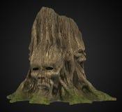 Scary tree Stock Image