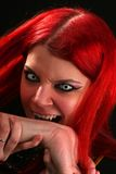 Scary vampire girl Royalty Free Stock Photo