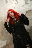 Scary vampire girl Royalty Free Stock Photography