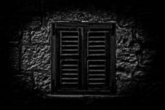 The Scary Window royalty free stock photography