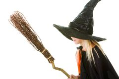 Scary witch Royalty Free Stock Photography