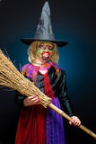 Scary witch Royalty Free Stock Photo